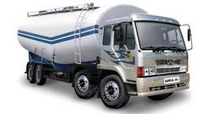 Large haulage truck