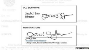 An ammended signature